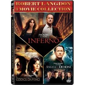 Robert Langdon 3 Movie Collection - Il Codice da Vinci + Angeli e Demoni +Inferno