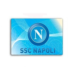 Gadget SSC Napoli. Tappetino Mouse pad con logo ufficiale