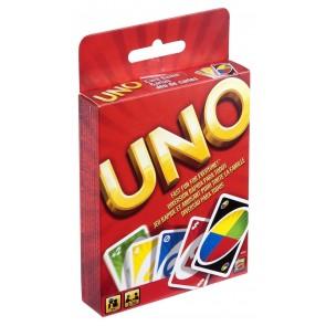 Mattel W2087 UNO Gioco a carte, Uno Carte Uno