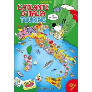 L'atlante d'Italia Touring. Con adesivi. Ediz. illustrata