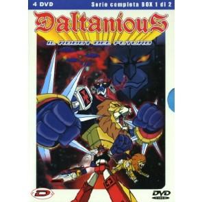 Daltanious Il robot del futuro Volume 01 Episodi 01-24