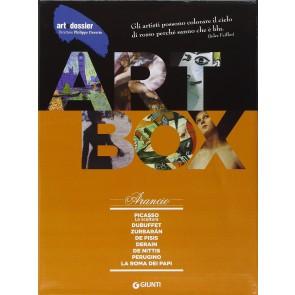 Dossier d'art. Box arancio: Picasso. La scultura-Dubuffet-Zurbarán-De Pisis-Derain-De Nittis-Perugino-La Roma dei papi. Ediz. illustrata