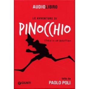 Paolo Poli legge le avventure di Pinocchio. Con Cd Audio MP3