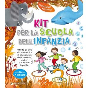 Kit per la scuola dell'infanzia. Attività di avvio alla matematica, di allenamento della memoria, atelier e laboratori linguistici