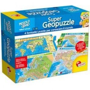 Piccolo Genio. Super Geopuzzle