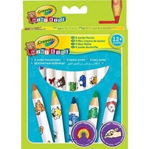 Crayola. Mini Kids 8 Maxi Matite Colorate