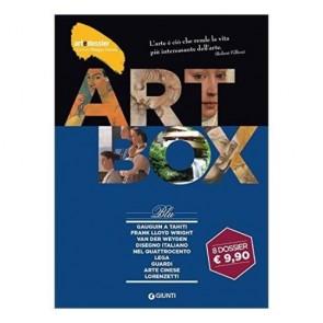 Dossier d'art. Box blu: Gauguin a TahitiFrank Lloyd WrightVan der WeydenDisegno italiano nel QuattrocentoLegaGuardiArte cineseI Lorenzetti
