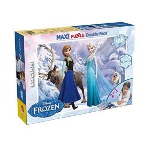 Lisciani 46904 - Puzzle Df Supermaxi 108 Frozen Tit 2