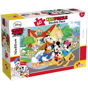 Lisciani Giochi 66728.0 - Mickey Puzzle Df Supermaxi 60