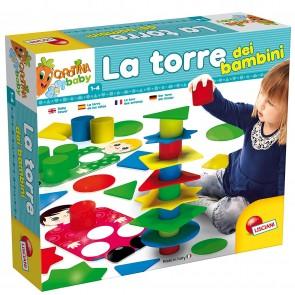 Lisciani Giochi 58549 Gioco Carotina Baby, La Torre dei Bambini