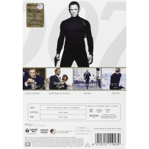 007 - Daniel Craig Collection (4 Dvd)
