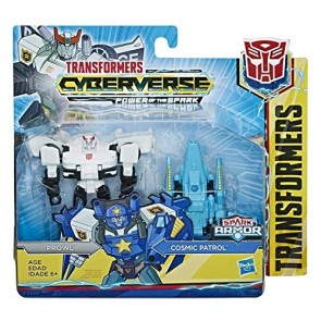 Transformers Cyberverse Prowl con Spark Armor