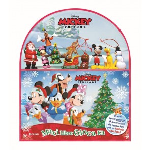 Natale. Mickey & friends. Maxi libro gioca kit. Con gadget