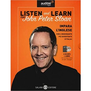 Listen and learn con John Peter Sloan. Audiolibro. CD Audio formato MP3. Con Libro in brossura