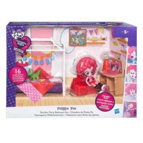 My Little Pony Equestria Girls. Playset Cameretta di Pinkie Pie