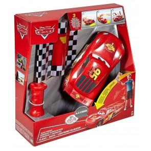 Mattel DPL07. Cars. Saetta McQueen Pronti E Via