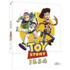 Toy Story. La collezione dei 4 film. Con Steelbook Blu-ray