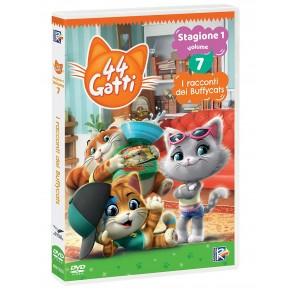 44 gatti vol.7. I racconti dei Buffycats. Con card DVD