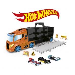 Hot Wheels. Bisarca con 3 veicoli