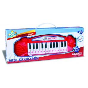 Toy Band Star. Tastiera Elettronica A 24 Tasti, 23 Brani Preregistrati, Selettore Note/Demo.