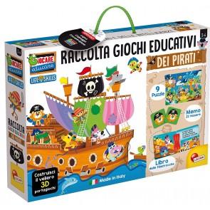 Giocare Educare. Il veliero dei pirati gioca e impara kit