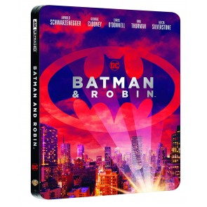 Batman & Robin. Con Steelbook Blu-ray + Blu-ray Ultra HD 4K