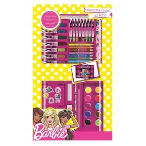 Barbie Valigetta Colori da 52 pz