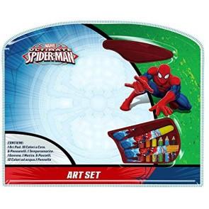 Valigetta Scatola Colori 39 Pezzi - Marvel Spiderman
