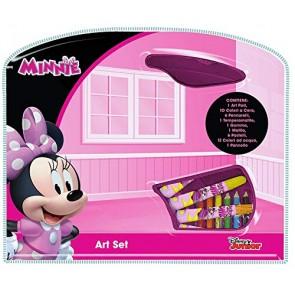 Valigetta Minnie Kit Crea e Colora