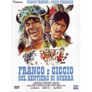 Franco e Ciccio sul sentiero di guerra DVD