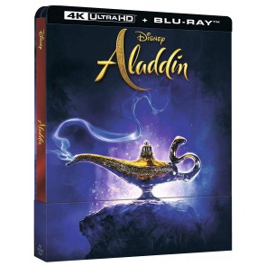 Aladdin Live Action. Con Steelbook (Blu-ray + Blu-ray 4K Ultra HD)