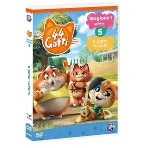 44 gatti vol.5. Il gatto volante. Con Card DVD