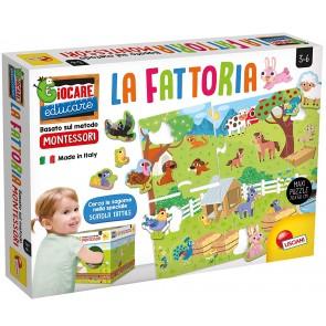 Giocare Educare. Montessori Maxi La Mia Fattoria