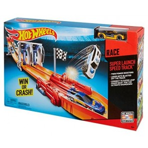 Hot Wheels. Super Launch Speed Track Pista Lancio