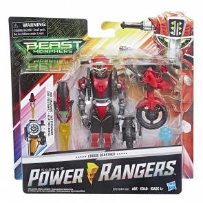 Power Rangers- Beast Morphers. Cruise Beastbot Action Figure, da 15 cm