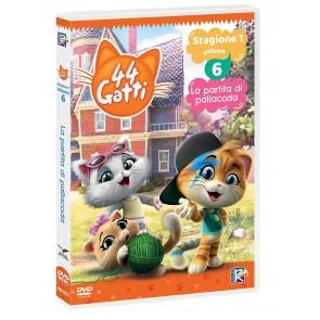 44 gatti vol.6. La partatita di pallacorda. Con Card DVD
