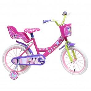 Bicicletta minnie ruota da 16 pollici