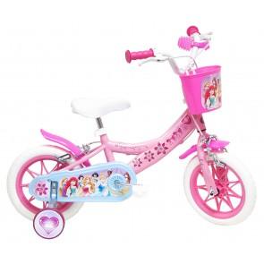 Bicicletta Ruota 12 Princess W.D. con Rotelle