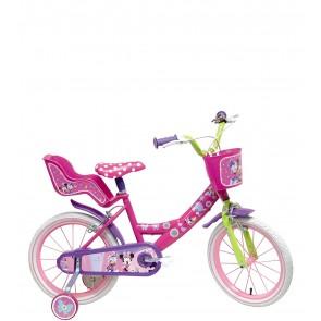 Bicicletta minnie ruota da 14 pollici