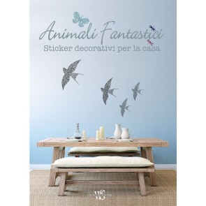 Animali fantastici. Sticker decorativi per la casa