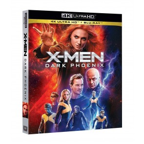 X-Men. Dark Phoenix Blu-ray + Blu-ray Ultra HD 4K