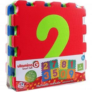 Vitamina G. Mattonelle Puzzle Numeri 9Pz 10Mm