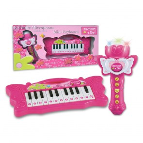 I Girl. Microfono Karaoke e Tastiera 22 Tasti