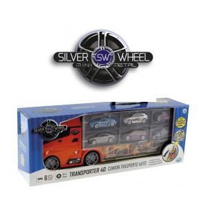 Silver Wheel. Camion Trasporto Auto