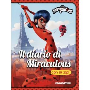 Il diario di Miraculous con la zip