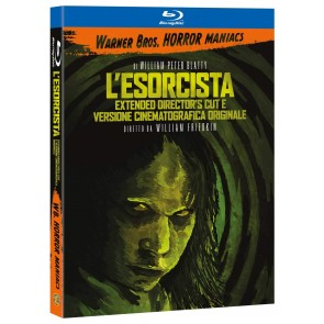 L'esorcista. Extended Director's Cut. Horror Maniacs Blu-ray