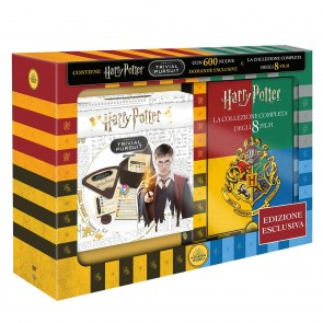 Cofanetto Harry Potter 1-8 con Trivial Pursuit Bitesize DVD