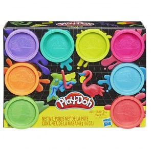 Play Doh. 8 pack Neon