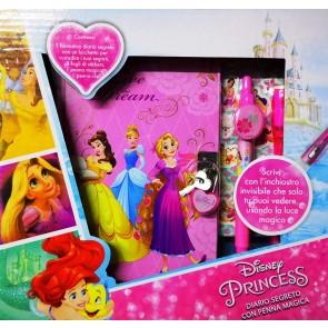 Disney Principesse Diario Segreto Più Penna Magica Più Stikers