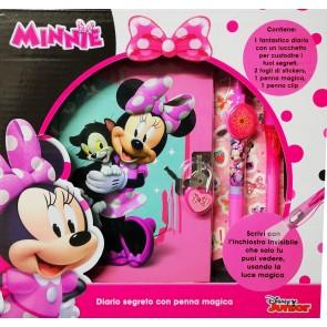 Minnie Diario Segreto Più Penna Magica Più Stikers